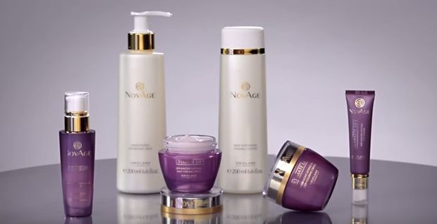 oriflame novage reafirmante facial efecto lifting